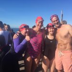 The Martin Fisher Foundation swimmers Brighton Triathlon 2019